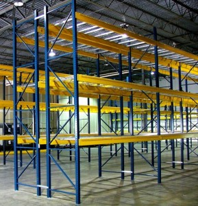 Used Pallet Rack Uprights Racine, WI