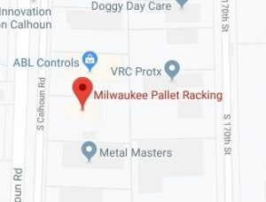 Milwaukee Pallet Racking Map